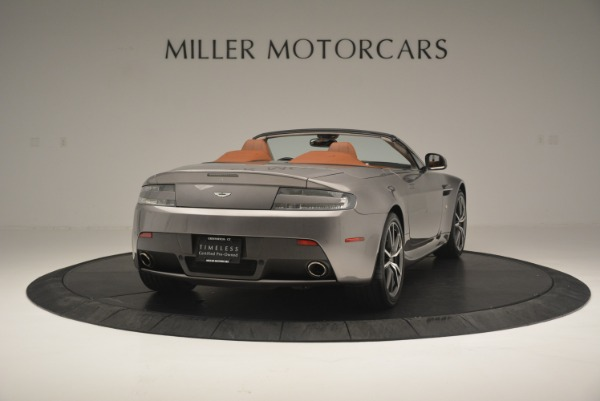 Used 2015 Aston Martin V8 Vantage Roadster for sale Sold at Pagani of Greenwich in Greenwich CT 06830 7
