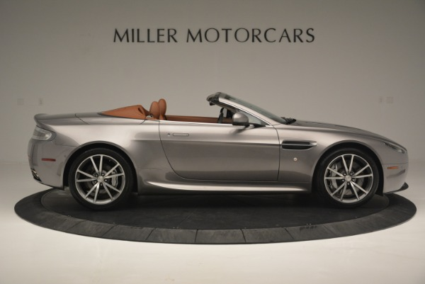 Used 2015 Aston Martin V8 Vantage Roadster for sale Sold at Pagani of Greenwich in Greenwich CT 06830 9