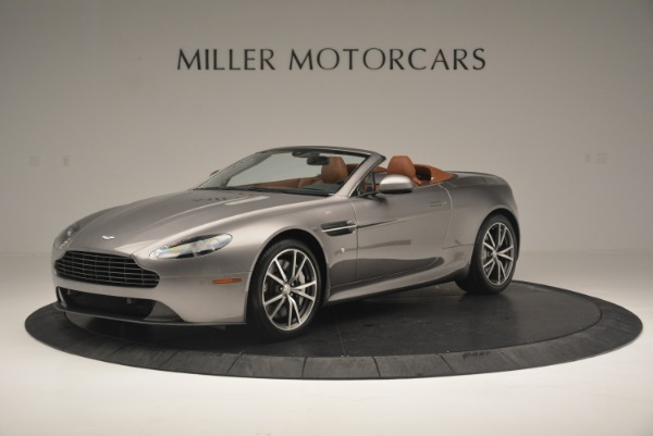 Used 2015 Aston Martin V8 Vantage Roadster for sale Sold at Pagani of Greenwich in Greenwich CT 06830 1