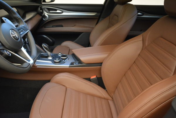 New 2018 Alfa Romeo Stelvio Ti Sport Q4 for sale Sold at Pagani of Greenwich in Greenwich CT 06830 15