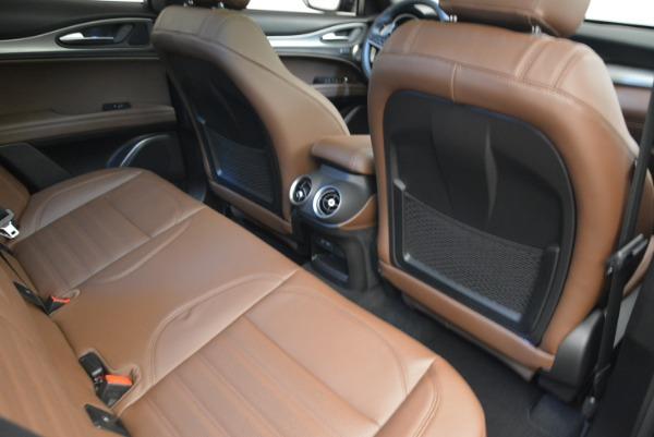 New 2018 Alfa Romeo Stelvio Ti Sport Q4 for sale Sold at Pagani of Greenwich in Greenwich CT 06830 23