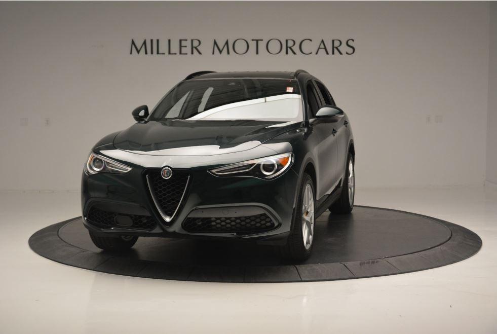 New 2018 Alfa Romeo Stelvio Ti Sport Q4 for sale Sold at Pagani of Greenwich in Greenwich CT 06830 1