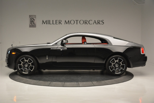 New 2018 Rolls-Royce Wraith Black Badge for sale Sold at Pagani of Greenwich in Greenwich CT 06830 2