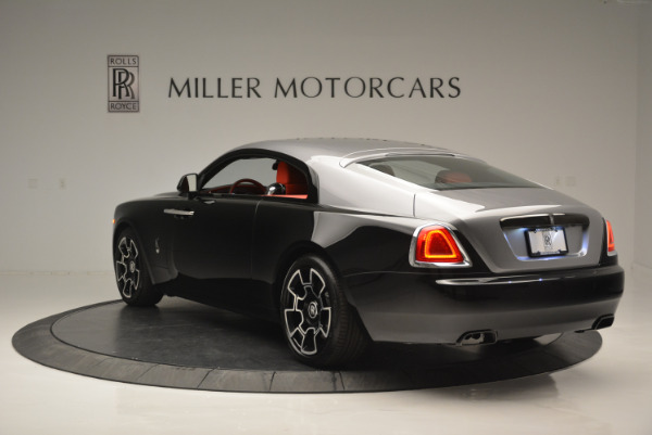 New 2018 Rolls-Royce Wraith Black Badge for sale Sold at Pagani of Greenwich in Greenwich CT 06830 3