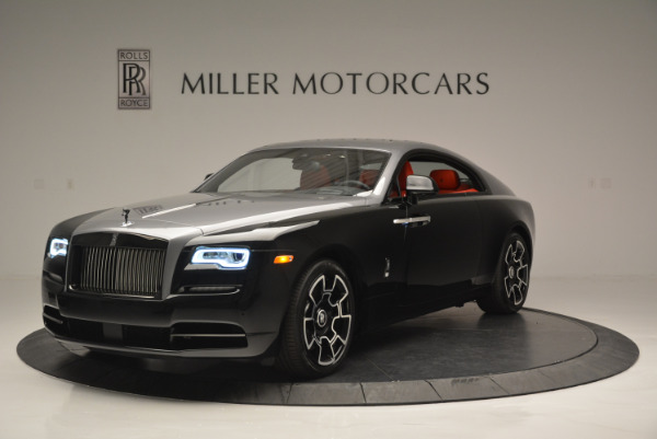 New 2018 Rolls-Royce Wraith Black Badge for sale Sold at Pagani of Greenwich in Greenwich CT 06830 1