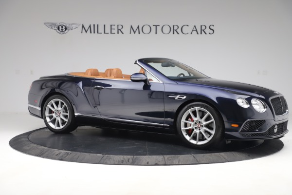 Used 2016 Bentley Continental GTC V8 S for sale Sold at Pagani of Greenwich in Greenwich CT 06830 10
