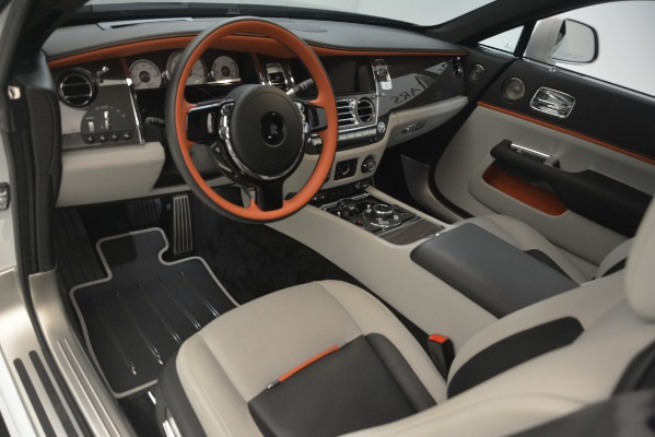 Used 2018 Rolls-Royce Wraith Black Badge Nebula Collection for sale Sold at Pagani of Greenwich in Greenwich CT 06830 15