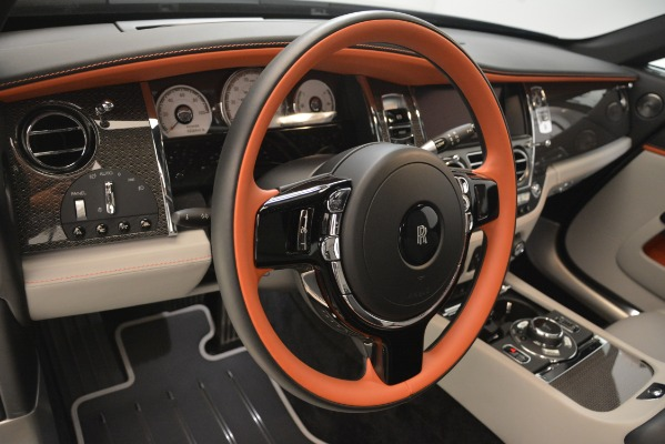 Used 2018 Rolls-Royce Wraith Black Badge Nebula Collection for sale Sold at Pagani of Greenwich in Greenwich CT 06830 20