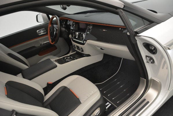 Used 2018 Rolls-Royce Wraith Black Badge Nebula Collection for sale Sold at Pagani of Greenwich in Greenwich CT 06830 23