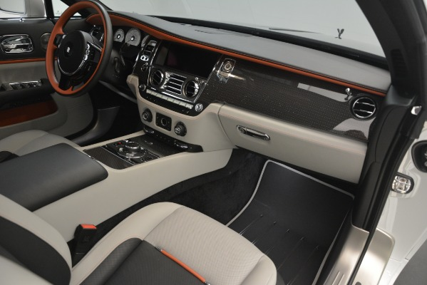 Used 2018 Rolls-Royce Wraith Black Badge Nebula Collection for sale Sold at Pagani of Greenwich in Greenwich CT 06830 27