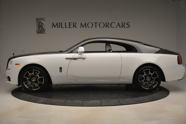 Used 2018 Rolls-Royce Wraith Black Badge Nebula Collection for sale Sold at Pagani of Greenwich in Greenwich CT 06830 3