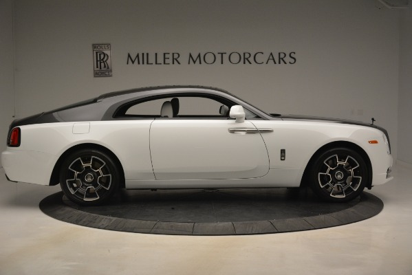 Used 2018 Rolls-Royce Wraith Black Badge Nebula Collection for sale Sold at Pagani of Greenwich in Greenwich CT 06830 9