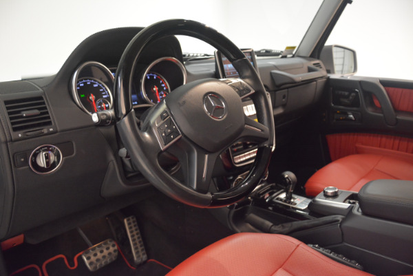 Used 2016 Mercedes-Benz G-Class G 550 for sale Sold at Pagani of Greenwich in Greenwich CT 06830 17
