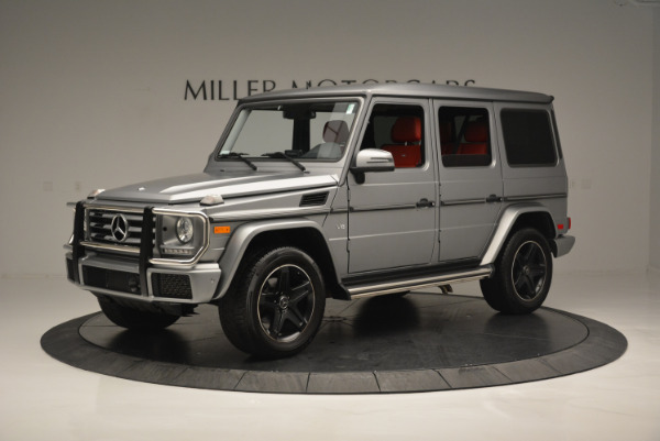 Used 2016 Mercedes-Benz G-Class G 550 for sale Sold at Pagani of Greenwich in Greenwich CT 06830 2