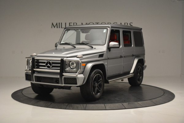 Used 2016 Mercedes-Benz G-Class G 550 for sale Sold at Pagani of Greenwich in Greenwich CT 06830 1