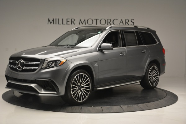 Used 2017 Mercedes-Benz GLS AMG GLS 63 for sale Sold at Pagani of Greenwich in Greenwich CT 06830 2