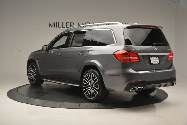 Used 2017 Mercedes-Benz GLS AMG GLS 63 for sale Sold at Pagani of Greenwich in Greenwich CT 06830 5