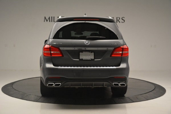 Used 2017 Mercedes-Benz GLS AMG GLS 63 for sale Sold at Pagani of Greenwich in Greenwich CT 06830 7