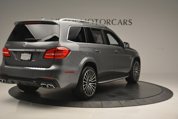 Used 2017 Mercedes-Benz GLS AMG GLS 63 for sale Sold at Pagani of Greenwich in Greenwich CT 06830 8