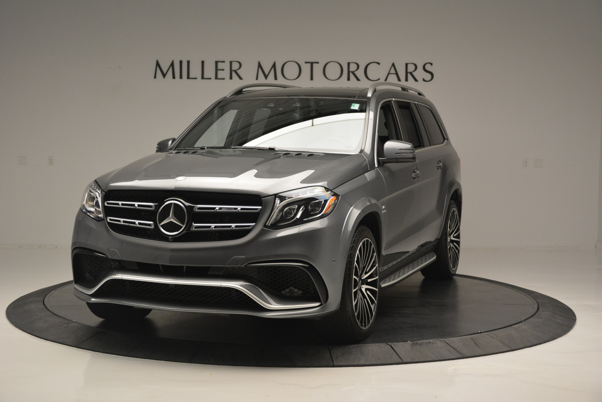 Used 2017 Mercedes-Benz GLS AMG GLS 63 for sale Sold at Pagani of Greenwich in Greenwich CT 06830 1