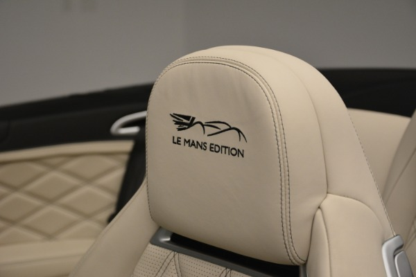 Used 2013 Bentley Continental GT W12 Le Mans Edition for sale Sold at Pagani of Greenwich in Greenwich CT 06830 24