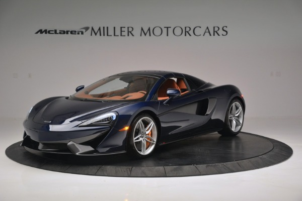 New 2019 McLaren 570S Spider Convertible for sale Sold at Pagani of Greenwich in Greenwich CT 06830 15