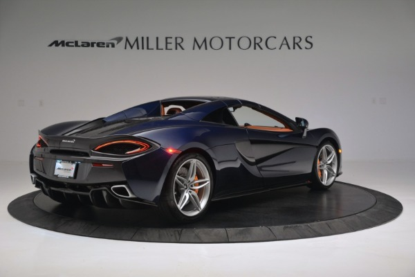 New 2019 McLaren 570S Spider Convertible for sale Sold at Pagani of Greenwich in Greenwich CT 06830 19