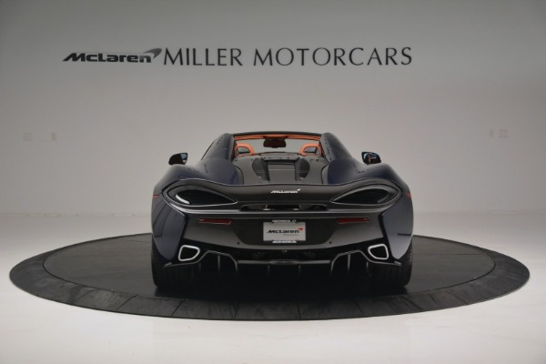 New 2019 McLaren 570S Spider Convertible for sale Sold at Pagani of Greenwich in Greenwich CT 06830 6
