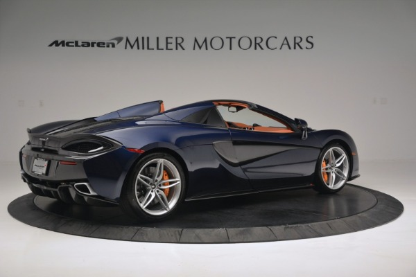 New 2019 McLaren 570S Spider Convertible for sale Sold at Pagani of Greenwich in Greenwich CT 06830 8