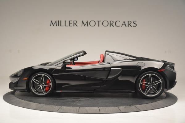 New 2019 McLaren 570S Convertible for sale Sold at Pagani of Greenwich in Greenwich CT 06830 3