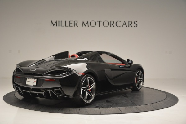 New 2019 McLaren 570S Convertible for sale Sold at Pagani of Greenwich in Greenwich CT 06830 7