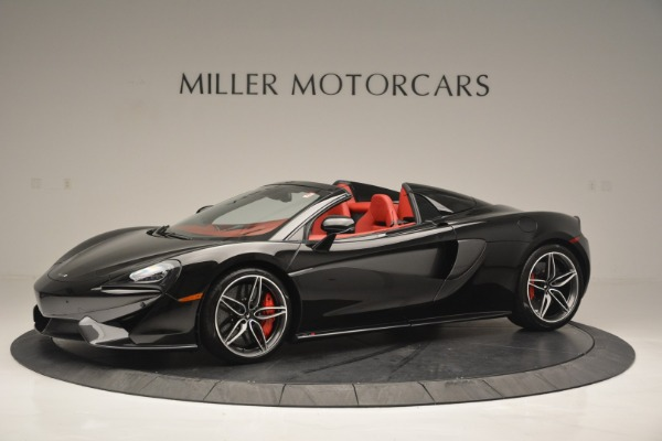 New 2019 McLaren 570S Convertible for sale Sold at Pagani of Greenwich in Greenwich CT 06830 1