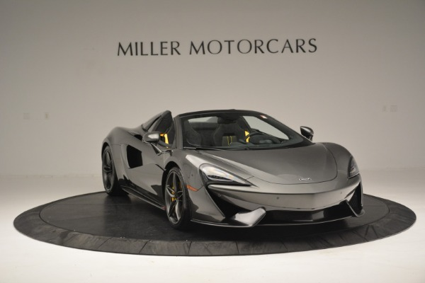 Used 2019 McLaren 570S Spider Convertible for sale $189,990 at Pagani of Greenwich in Greenwich CT 06830 11