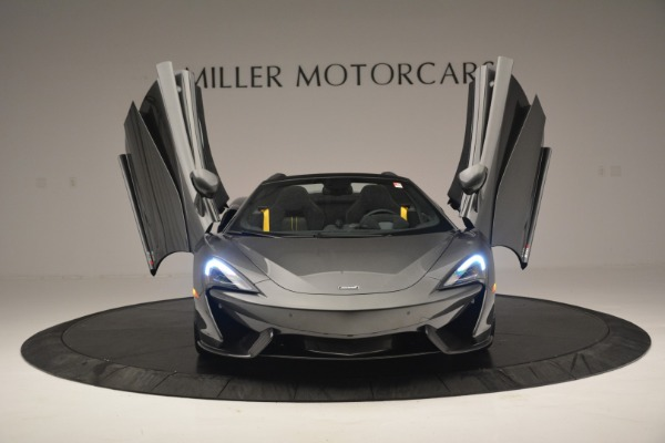 Used 2019 McLaren 570S Spider Convertible for sale $189,990 at Pagani of Greenwich in Greenwich CT 06830 13