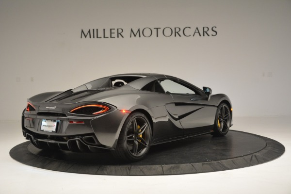 Used 2019 McLaren 570S Spider Convertible for sale $189,990 at Pagani of Greenwich in Greenwich CT 06830 19