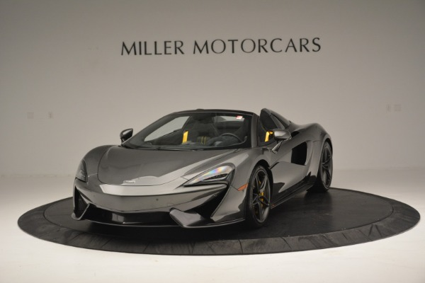 Used 2019 McLaren 570S Spider Convertible for sale $189,990 at Pagani of Greenwich in Greenwich CT 06830 2
