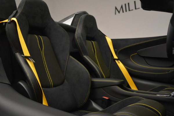 Used 2019 McLaren 570S Spider Convertible for sale $189,990 at Pagani of Greenwich in Greenwich CT 06830 27
