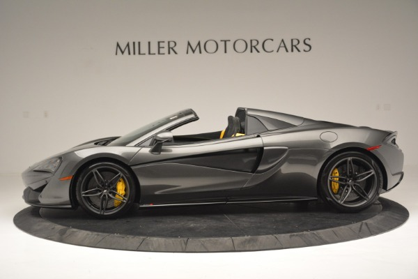 Used 2019 McLaren 570S Spider Convertible for sale $189,990 at Pagani of Greenwich in Greenwich CT 06830 3