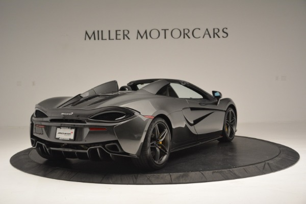 Used 2019 McLaren 570S Spider Convertible for sale $189,990 at Pagani of Greenwich in Greenwich CT 06830 7