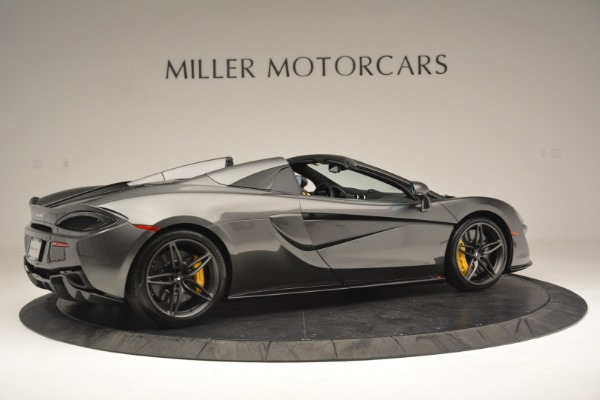 Used 2019 McLaren 570S Spider Convertible for sale $189,990 at Pagani of Greenwich in Greenwich CT 06830 8