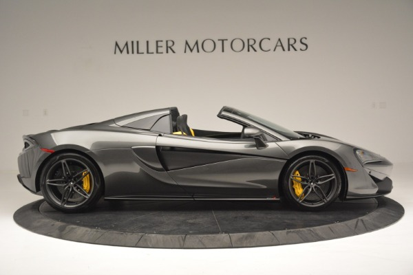 Used 2019 McLaren 570S Spider Convertible for sale $189,990 at Pagani of Greenwich in Greenwich CT 06830 9