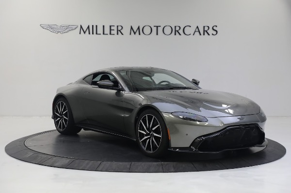 New 2019 Aston Martin Vantage V8 for sale Sold at Pagani of Greenwich in Greenwich CT 06830 10