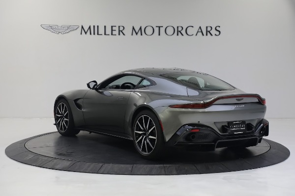 New 2019 Aston Martin Vantage V8 for sale Sold at Pagani of Greenwich in Greenwich CT 06830 4