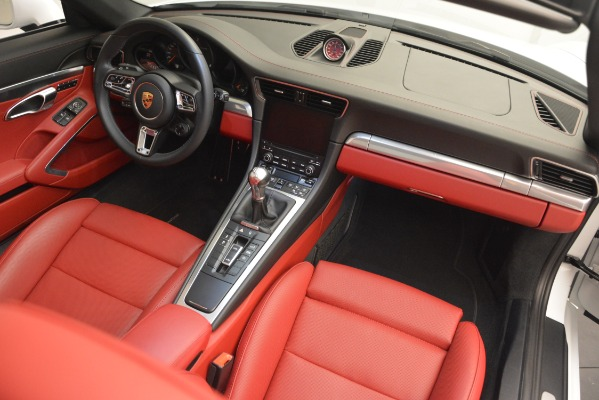 Used 2017 Porsche 911 Targa 4S for sale Sold at Pagani of Greenwich in Greenwich CT 06830 21
