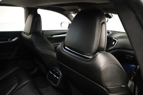Used 2019 Maserati Ghibli S Q4 GranSport for sale $64,900 at Pagani of Greenwich in Greenwich CT 06830 28