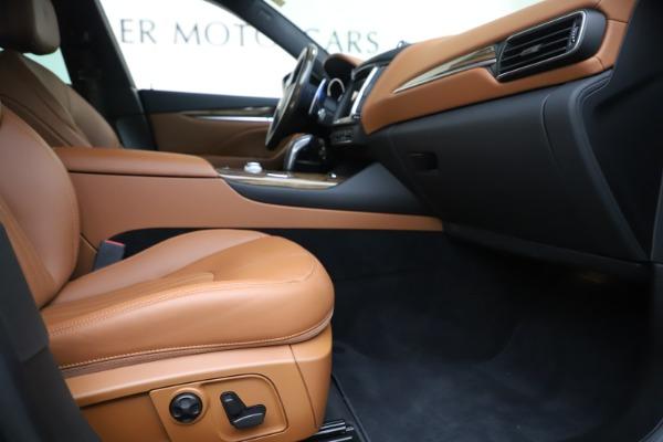 Used 2019 Maserati Levante Q4 GranLusso for sale Sold at Pagani of Greenwich in Greenwich CT 06830 23
