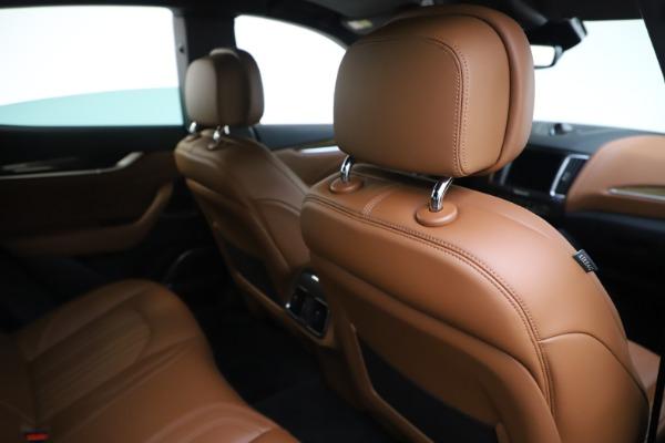 Used 2019 Maserati Levante Q4 GranLusso for sale Sold at Pagani of Greenwich in Greenwich CT 06830 28