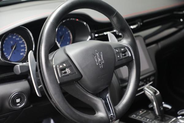 Used 2019 Maserati Quattroporte S Q4 GranLusso for sale $69,900 at Pagani of Greenwich in Greenwich CT 06830 17