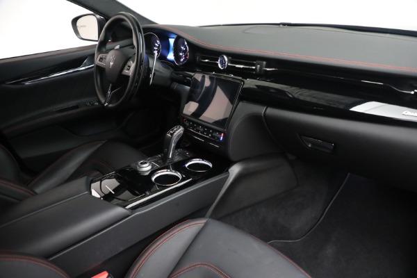 Used 2019 Maserati Quattroporte S Q4 GranLusso for sale $69,900 at Pagani of Greenwich in Greenwich CT 06830 26