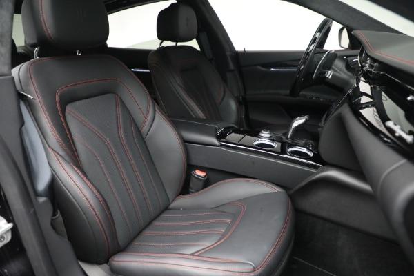 Used 2019 Maserati Quattroporte S Q4 GranLusso for sale $69,900 at Pagani of Greenwich in Greenwich CT 06830 28